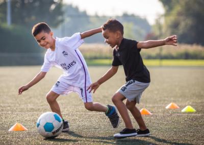 Voetbal: Streetsoccer / Pannavoetbal